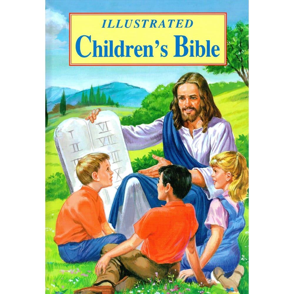 illustrated children u0027s bible the catholic company