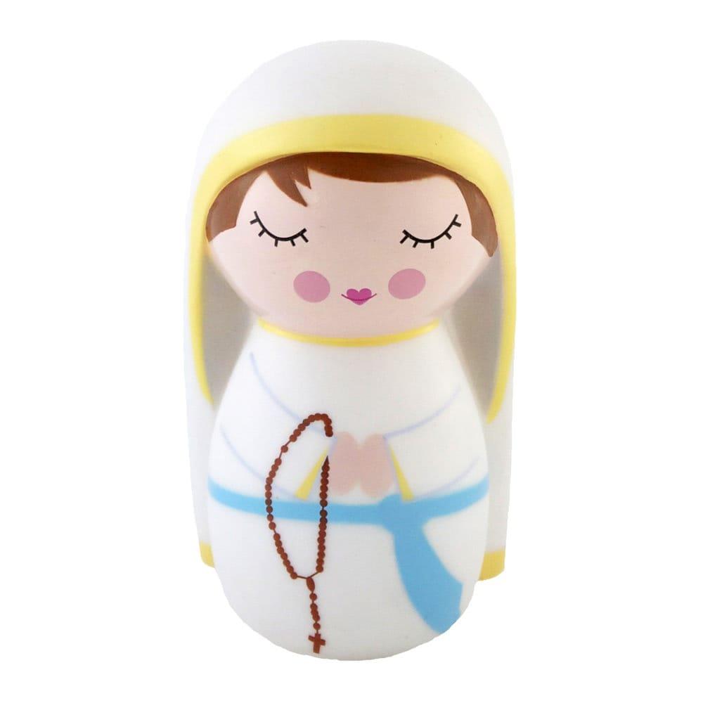 our lady of lourdes shining light doll the catholic company