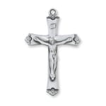 Crucifix - Sterling Silver on 18 inch chain