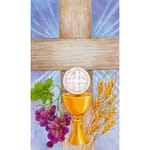 Eucharist Prayer Personalized Prayer Card (Priced Per Card)