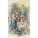 Boy and Girl First Communion Personalized Prayer Card