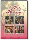 The Holy Rosary in Stained Glass (DVD)