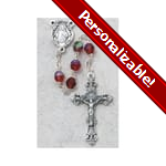 PERSONALIZE: Birthstone Rosary - July