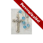 PERSONALIZE: Birthstone Rosary - March