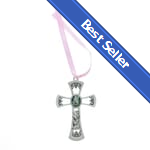 BEST SELLER: Girls Guardian Angel Crib Cross