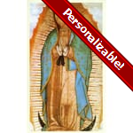 Guadalupe Personalized Prayer Card (Priced Per Card)