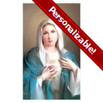 Immaculate Heart of Mary Series 4 Personalized Prayer Card (Priced Per Card)