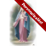 Immaculate Heart of Mary Series 5 Personalized Prayer Card (Priced Per Card)