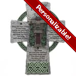 Irish Home Blessing Cross  - 8 inches