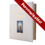 PERSONALIZE: My First Communion Bible - White Cover