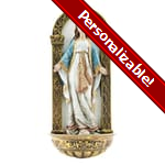 Our Lady of Grace Font - 7 inches