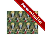 Our Lady of Lourdes Personalized Prayer Card (Priced Per Card)