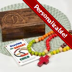 PERSONALIZE: Personalized Kiddie Rosary Gift Set