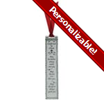 Pewter Confirmation Bookmark