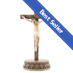 Renaissance Collection 2pc. Crucifix w/Stand - 8.5 inches