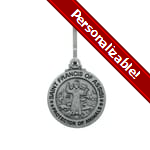 St. Francis Protector of Animals Pet Medal