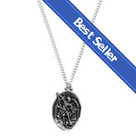 BEST SELLER: St. Michael Vintage Medal