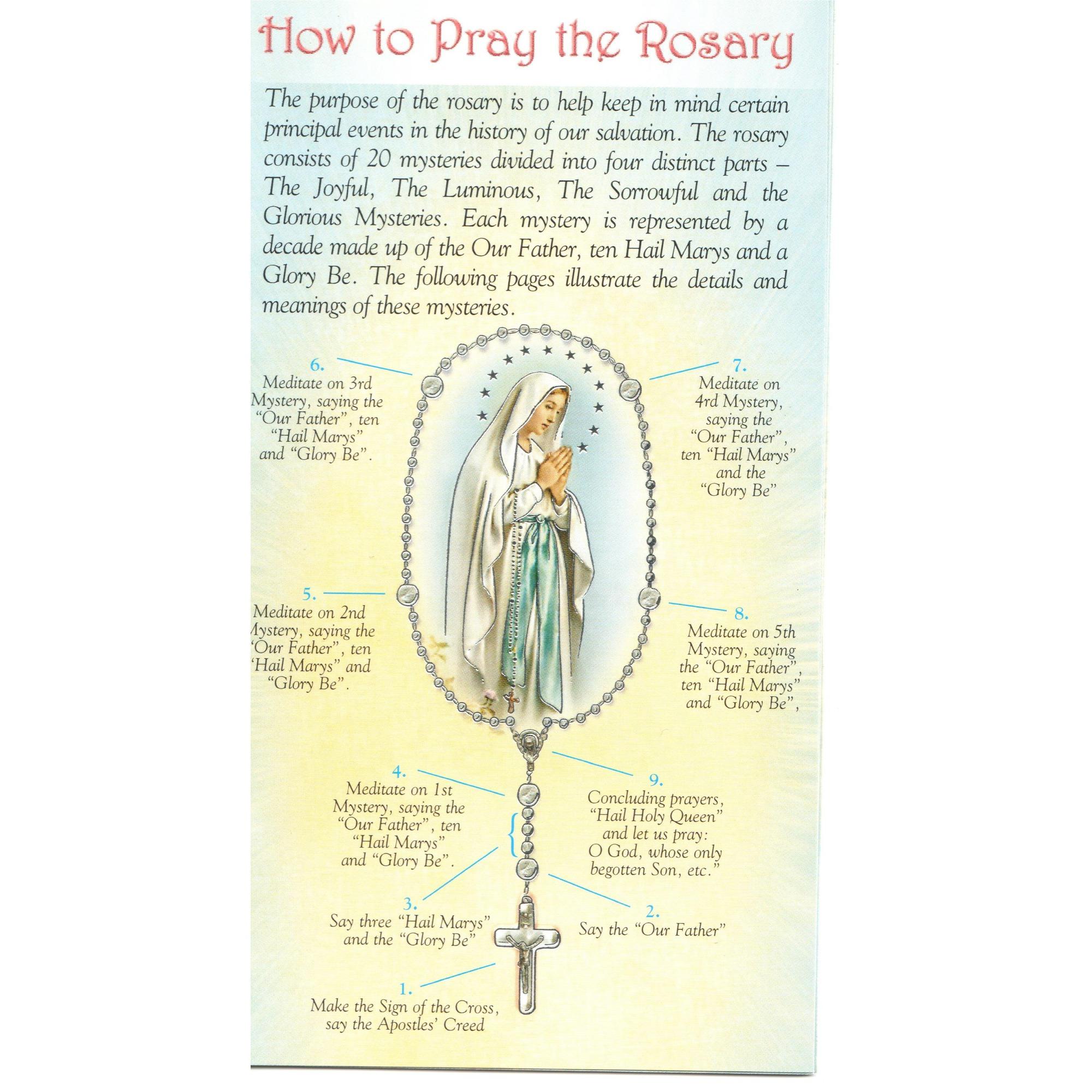 How To Pray The Rosary The Catholic Company