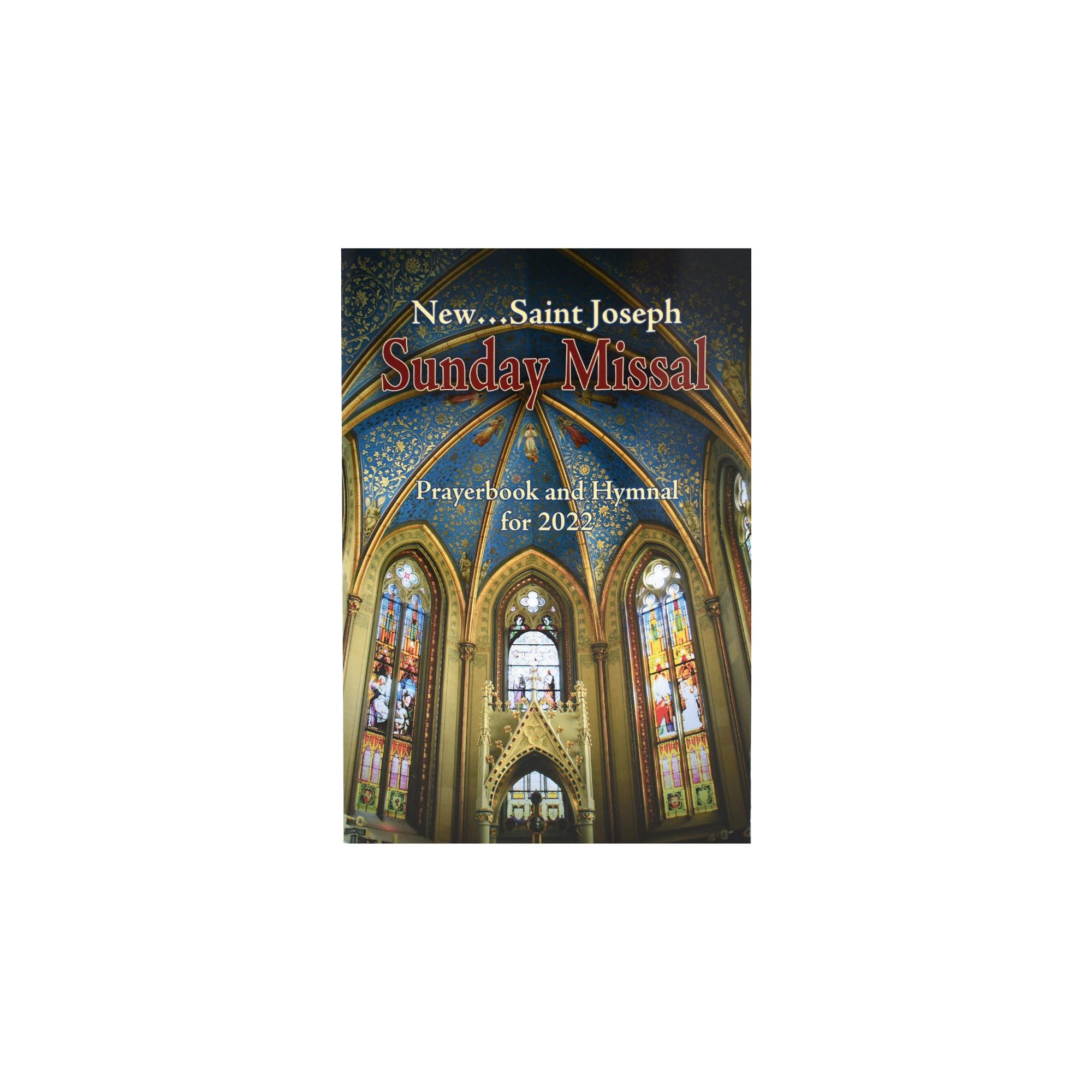2019 New Saint Joseph Sunday Missal