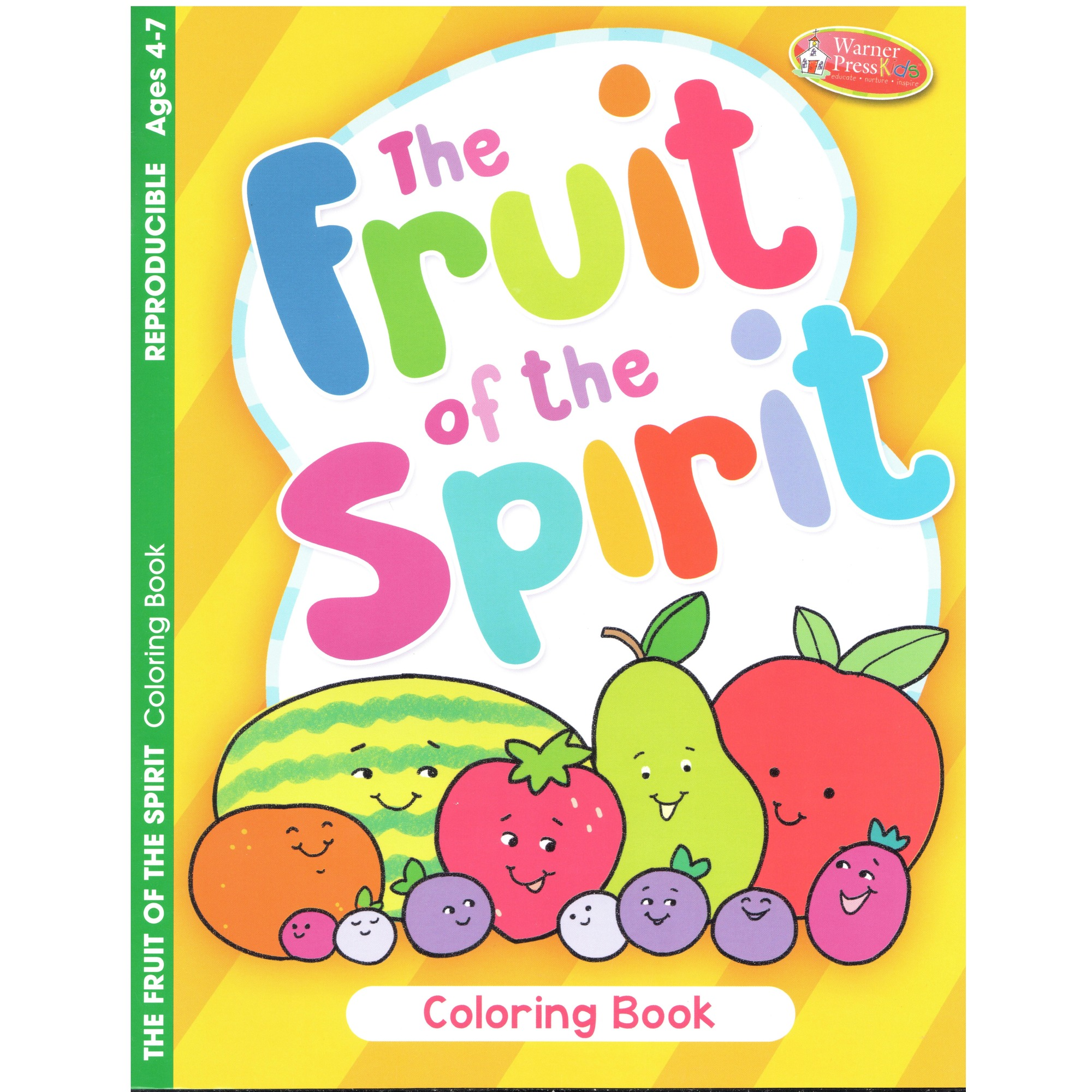 The Fruit of the Spirit Coloring Book | The Catholic Company