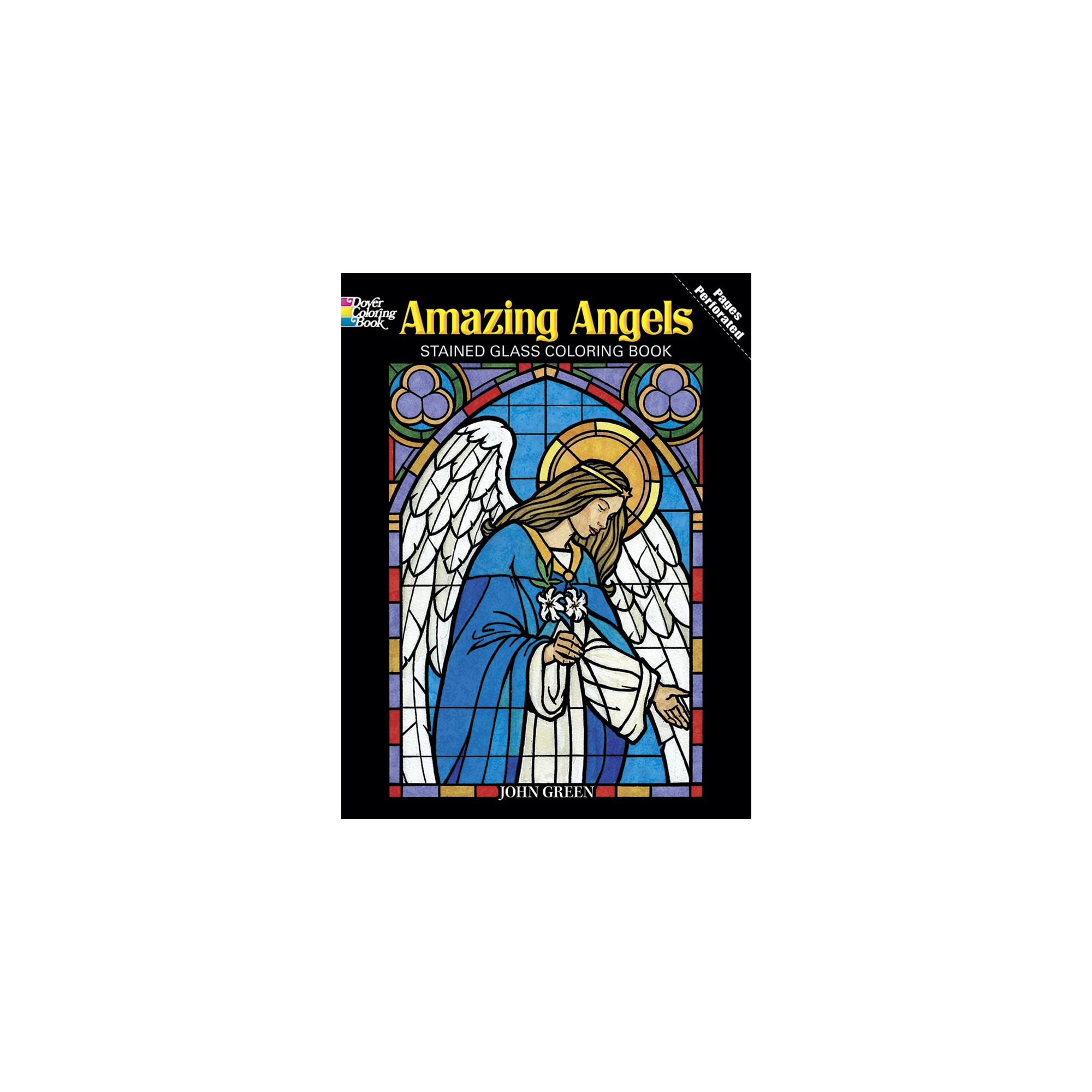 Amazing Angels Stained Glass Coloring Book | The Catholic Company