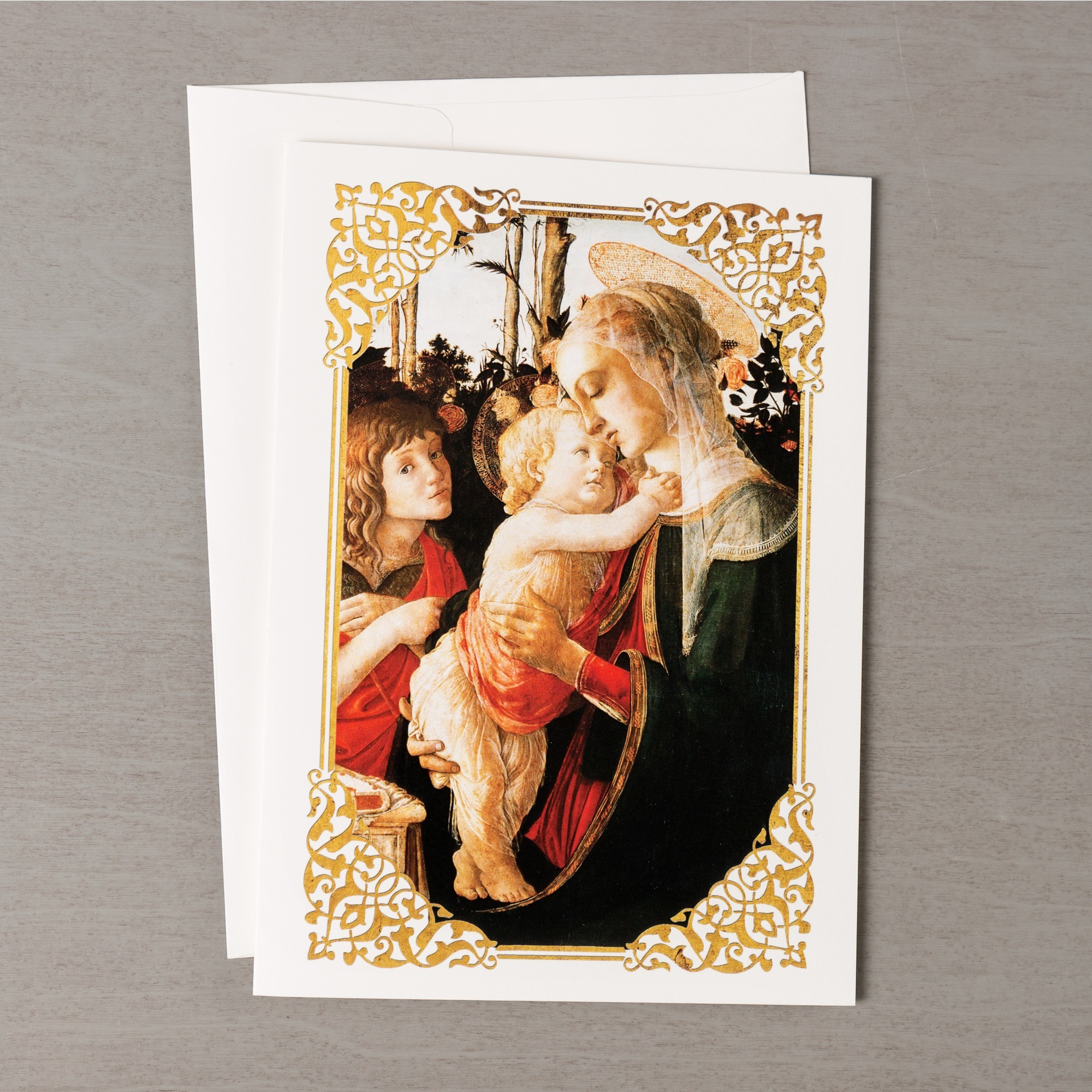 Botticelli Madonna and Child Christmas Cards - Set of 20 | The ...