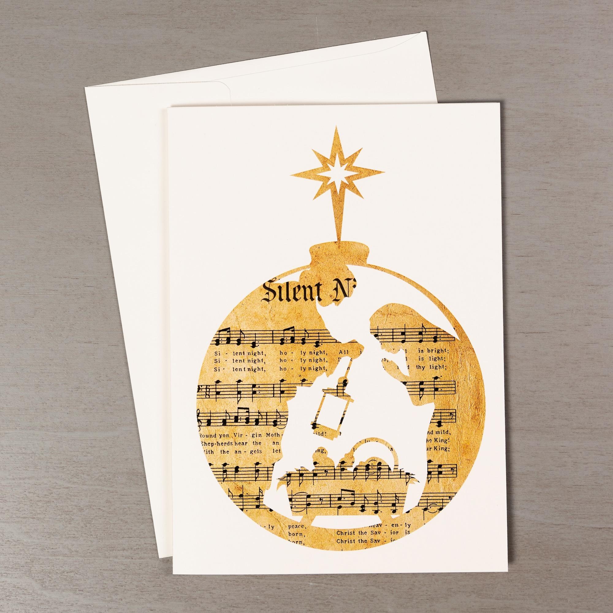 Holy Family Sheet Music Christmas Cards - Set of 20 | The Catholic ...