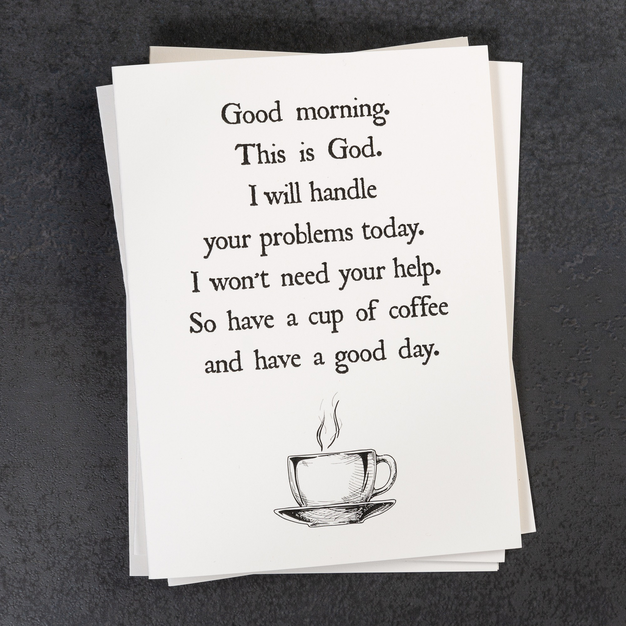 Christ And Coffee Quotes Note Cards Set Of 12 The Catholic Company