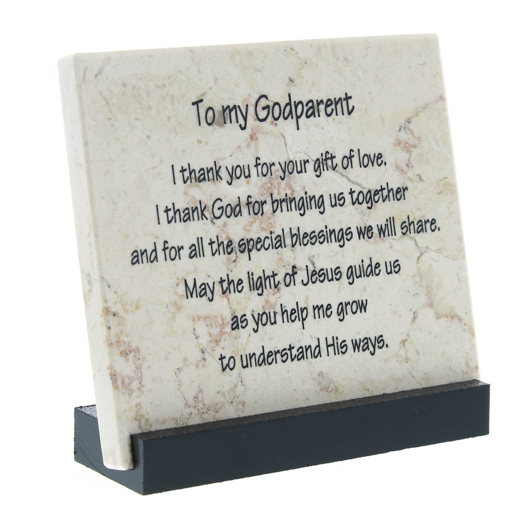 Catholic Quotes On Love Godparent Prayer Stone  The Catholic Company