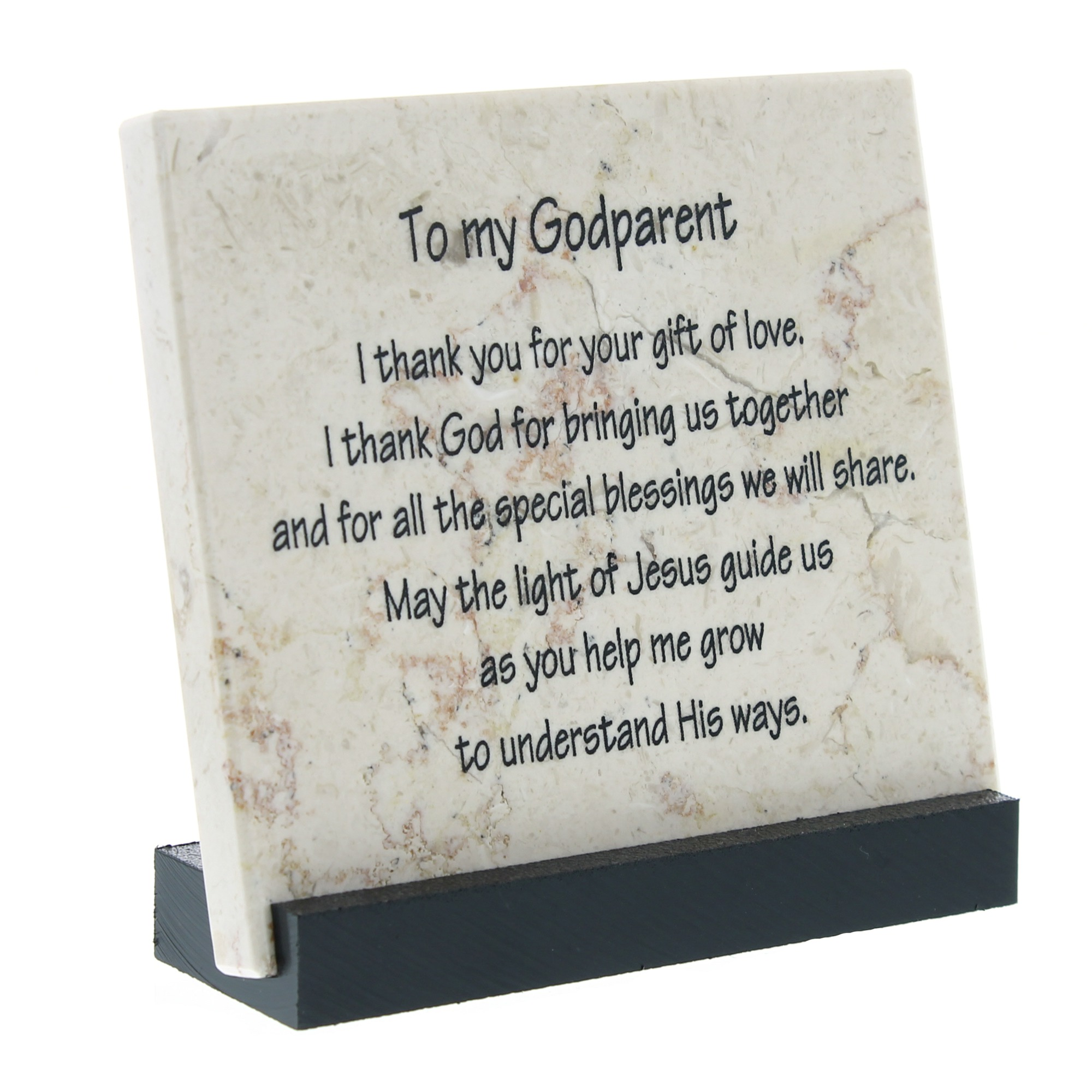 Godparent prayer stone the catholic company yadclub Gallery