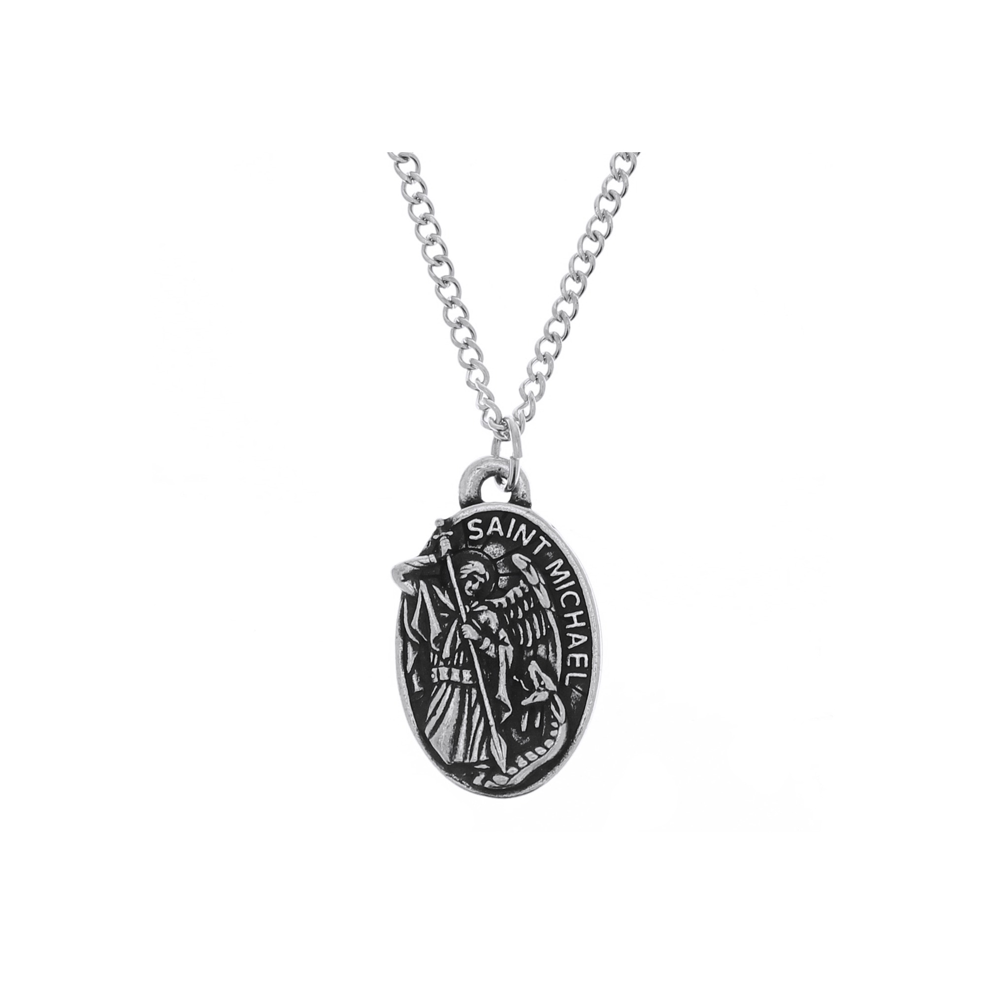 catholic necklace company cross pendant may restrictions rope the pewter apply
