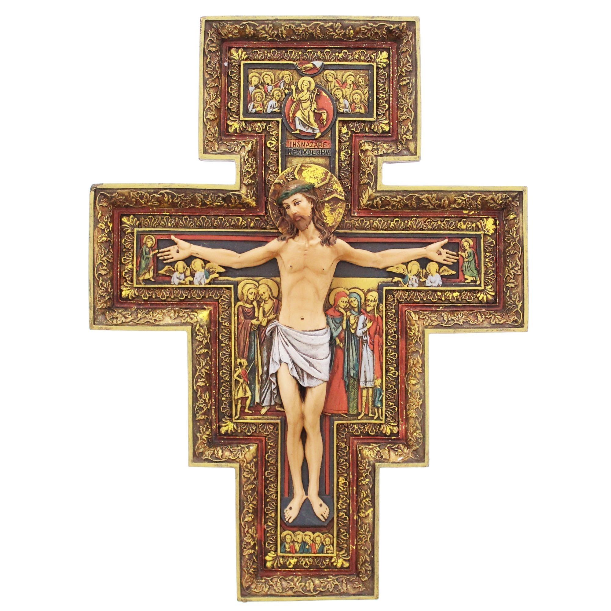 Wall crucifixes the catholic company san damiano cross 10 amipublicfo Gallery