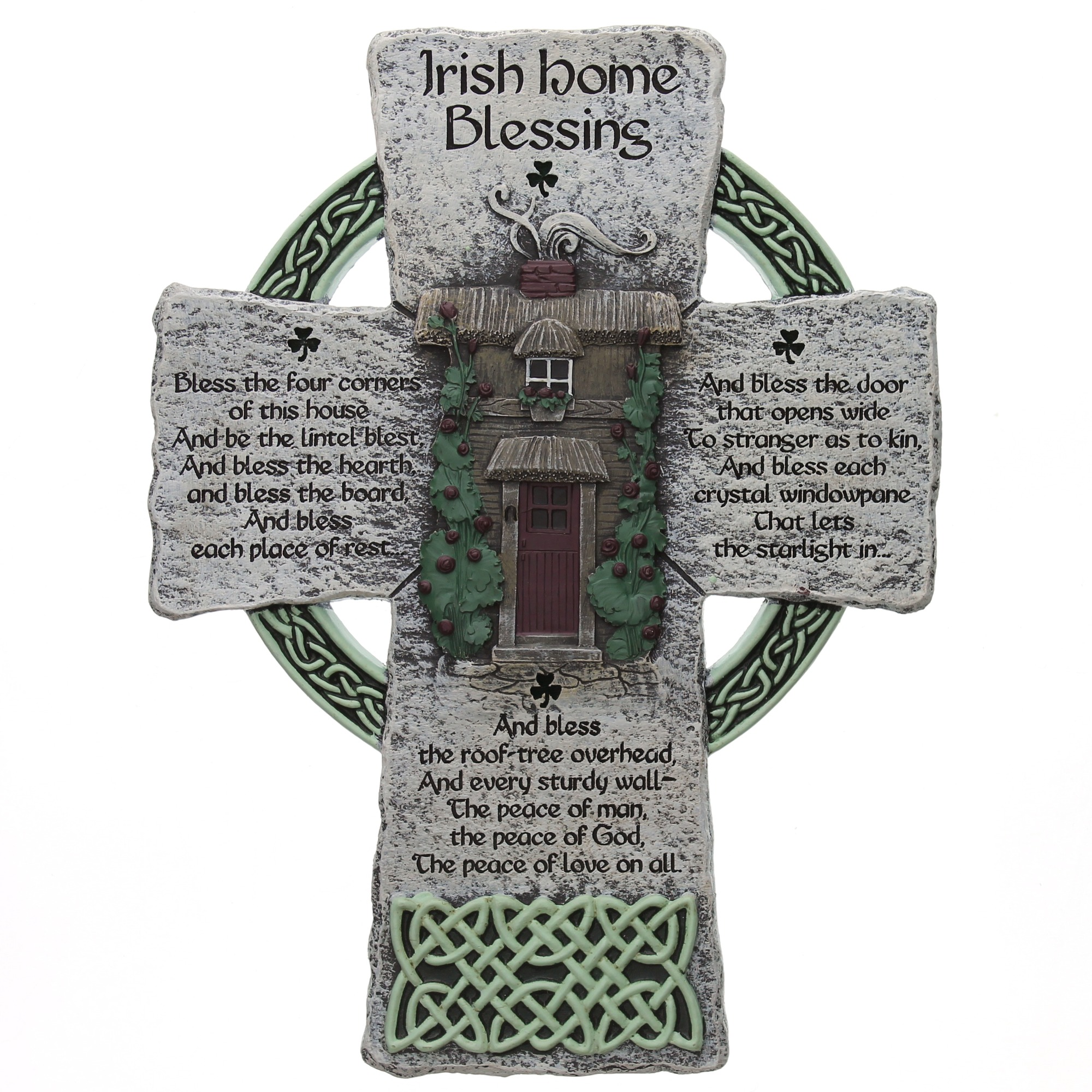 Irish home blessing cross 8 inches the catholic company irish home blessing cross 8 inches amipublicfo Images