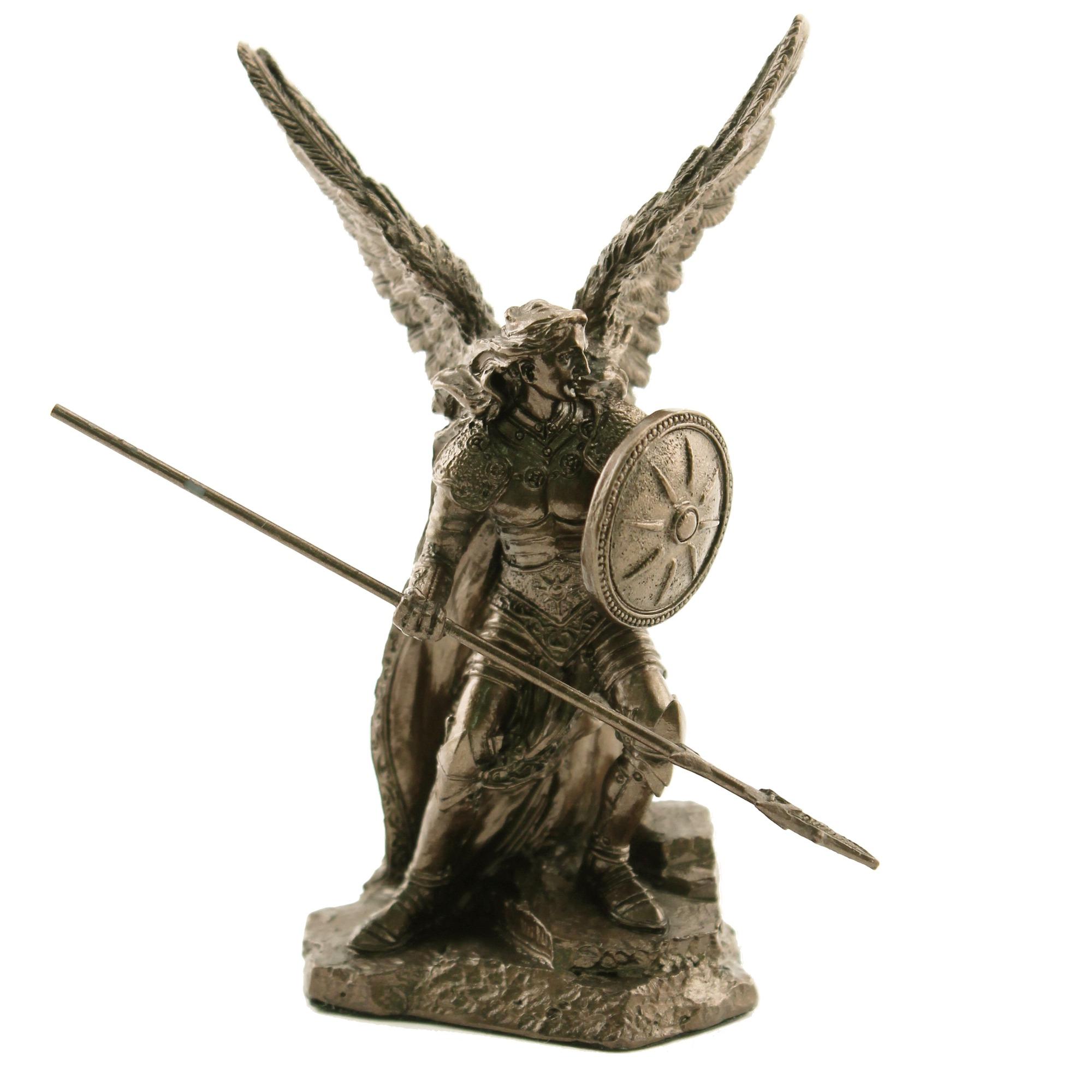 St raphael archangel veronese statue bronzed 4 inch the st raphael archangel veronese statue bronzed 4 inch buycottarizona Images
