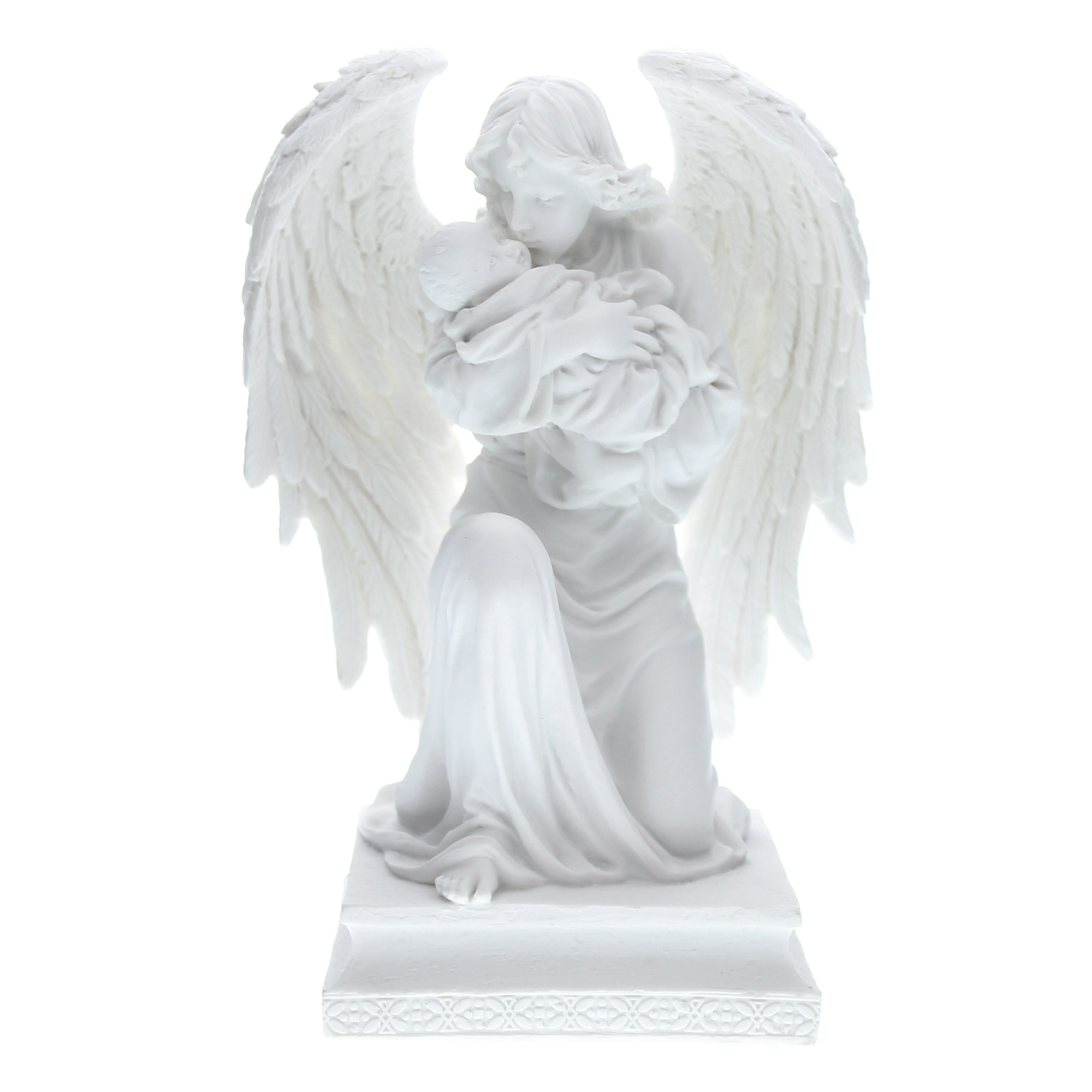 Guardian Angel With Child Veronese Statue 7 Inch The Catholic Company