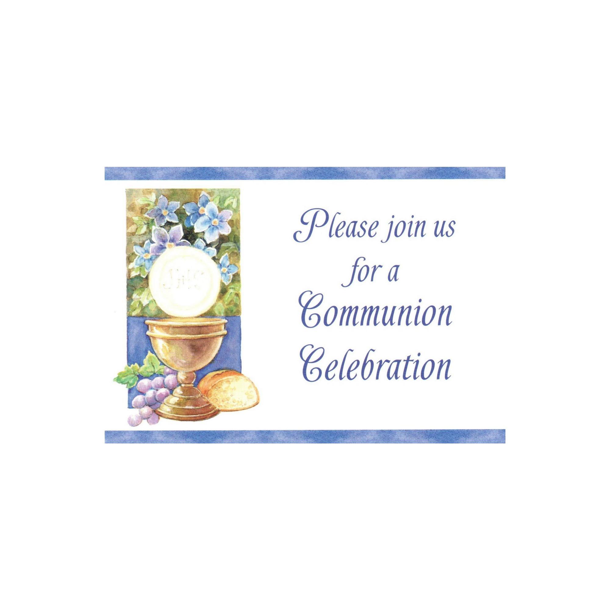 first communion invitations the catholic company