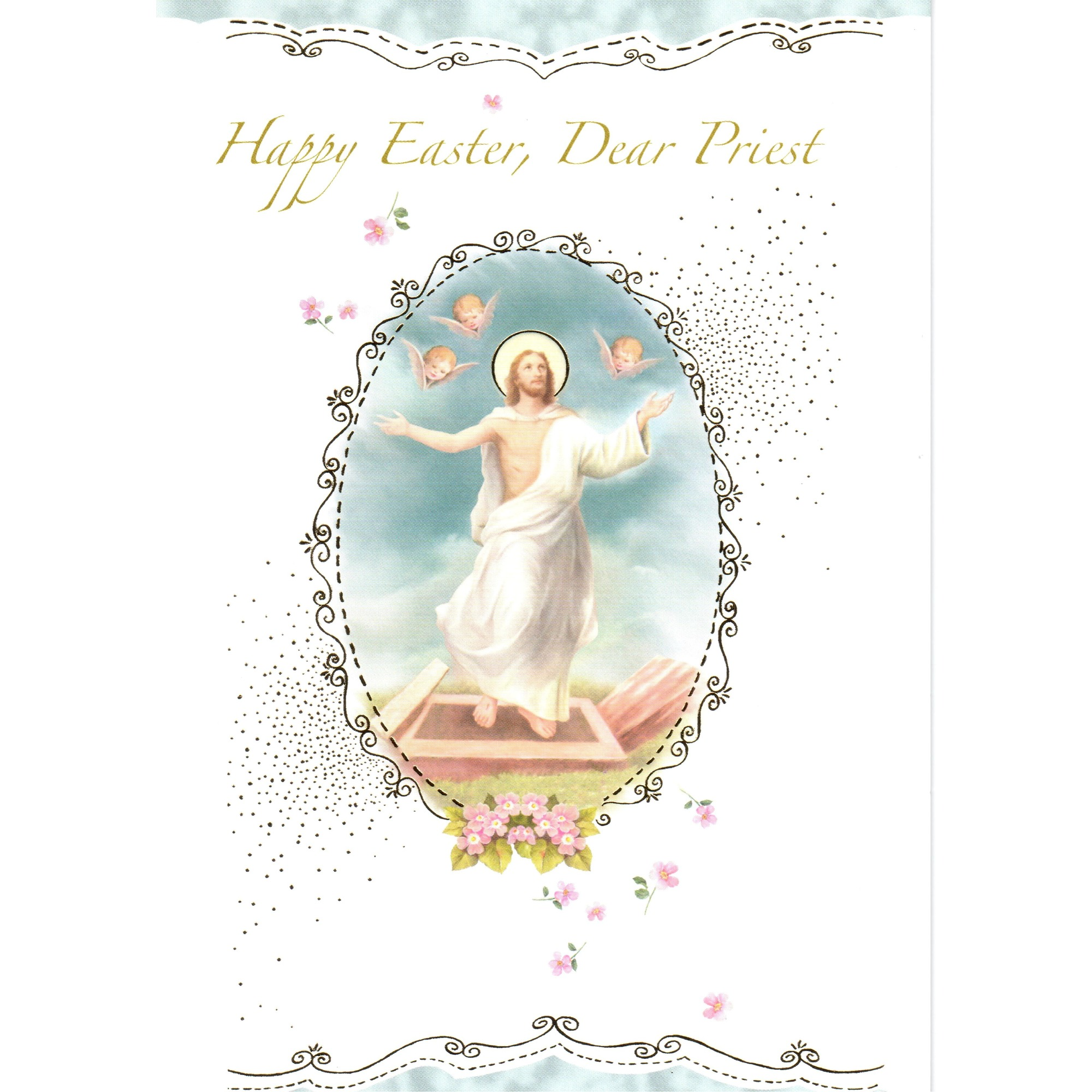Priest easter greeting card the catholic company kristyandbryce Image collections