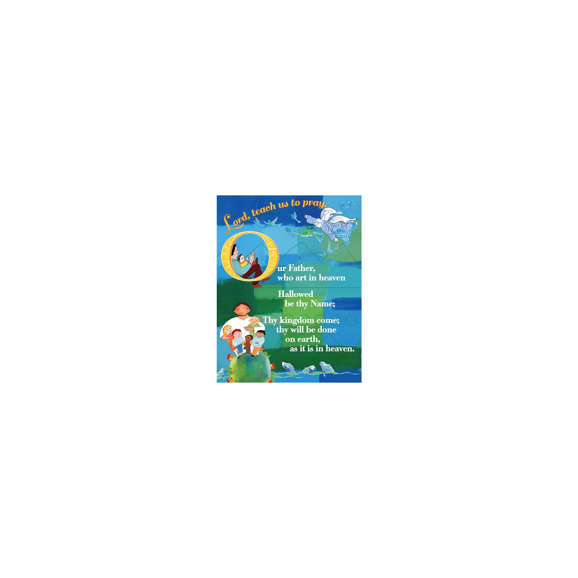 the lord u0027s prayer catholic laminated card 8 5 x 11