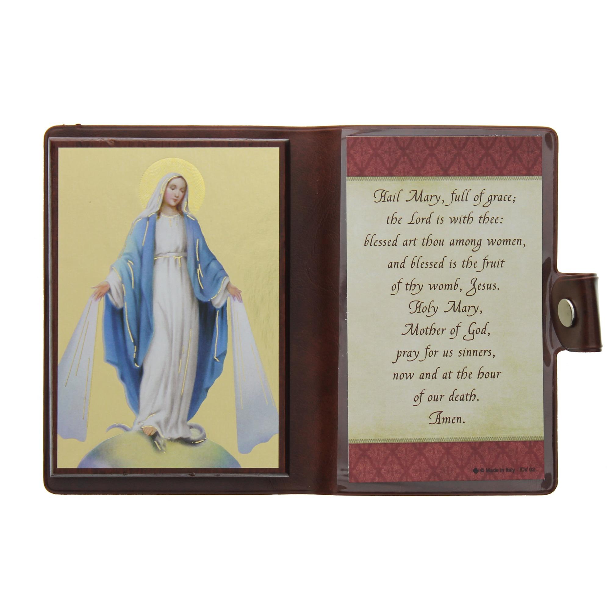 hail mary travel icon u0026 prayer the catholic company