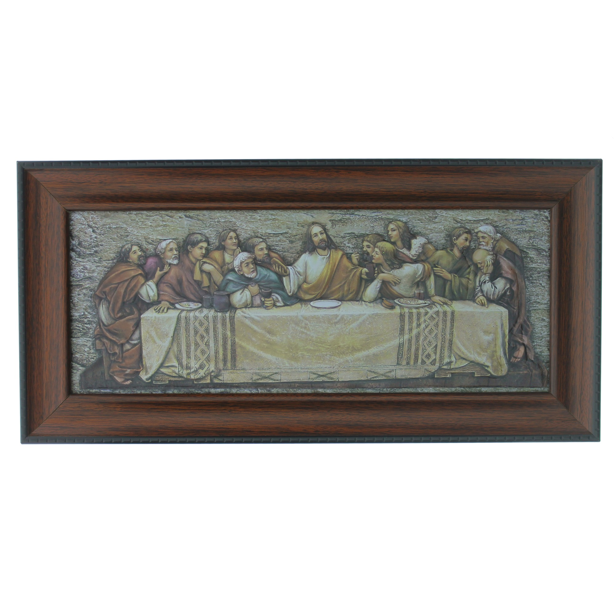 The Last Supper Framed Plaque | The Catholic Company