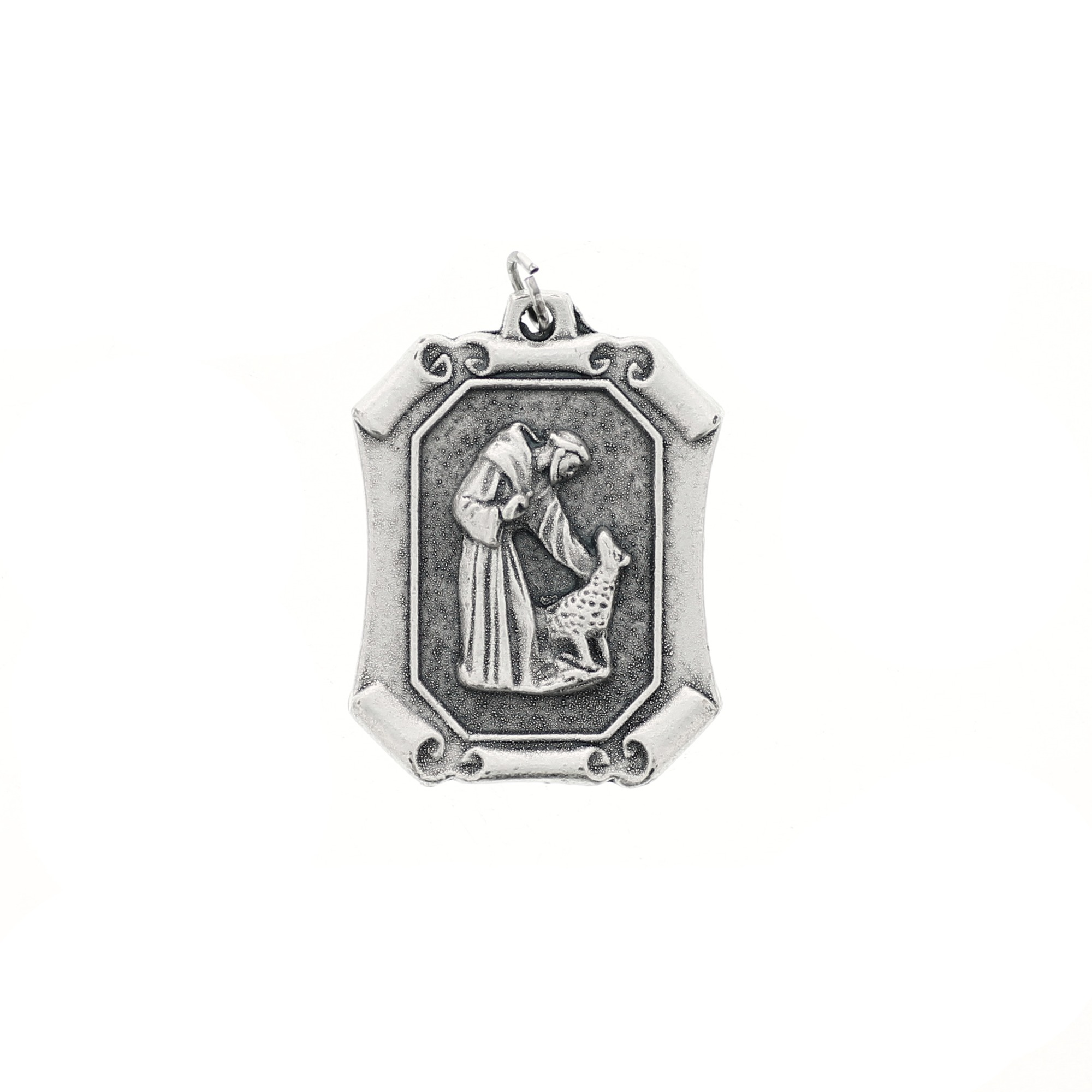 travel religious necklace in st wholesale shape jewelry protect christopher charms saint my pendant charm medal protection on accessories medallion item catholic from us