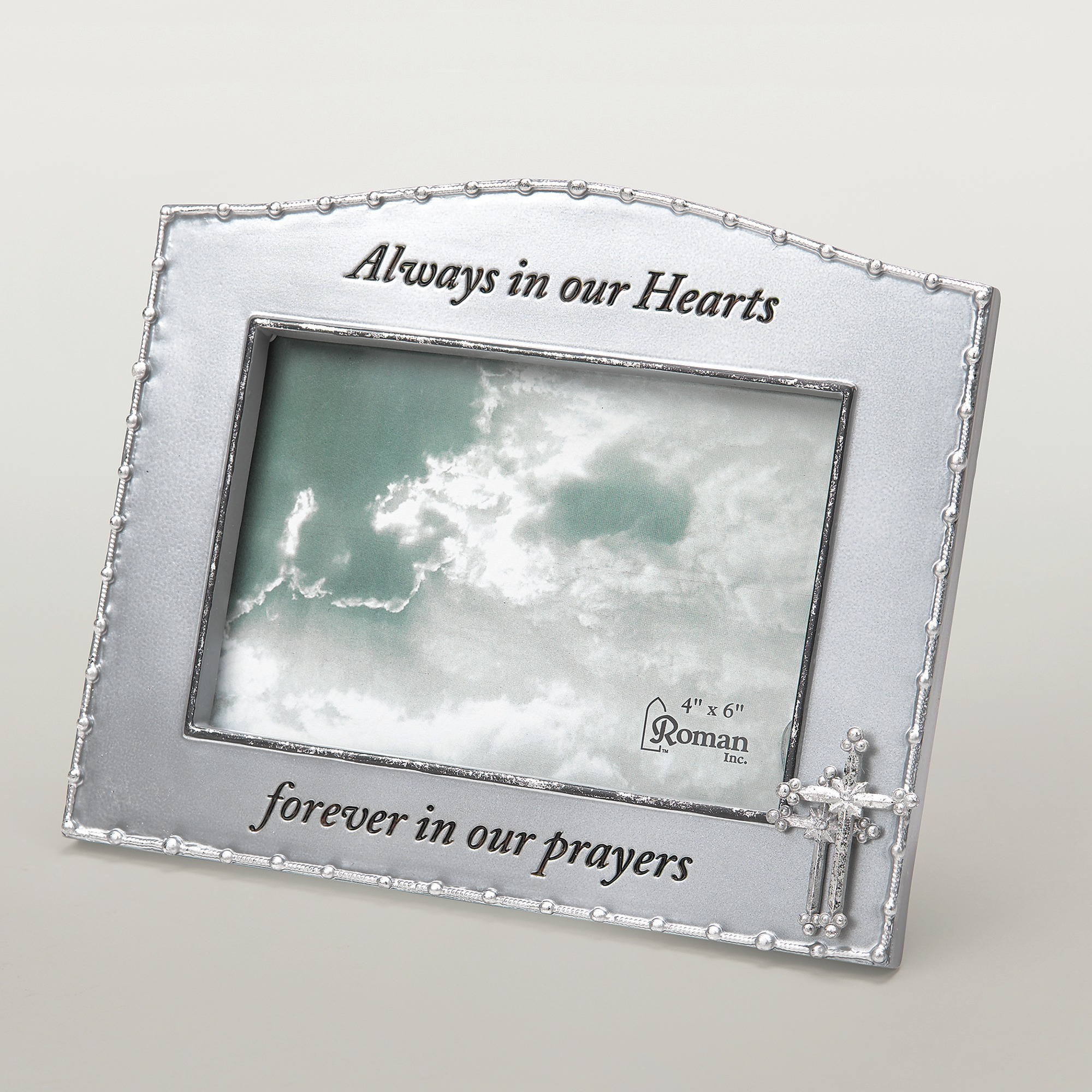 Memorial picture frames the catholic company rosary memorial photo frame jeuxipadfo Choice Image