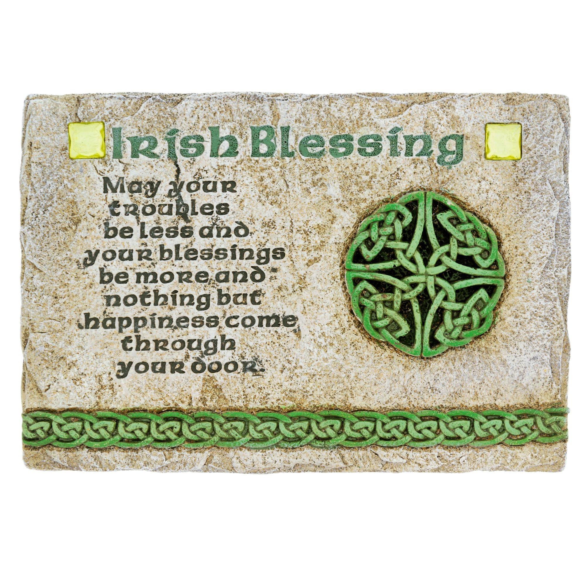 Irish Blessing Wall Plaque | The Catholic Company
