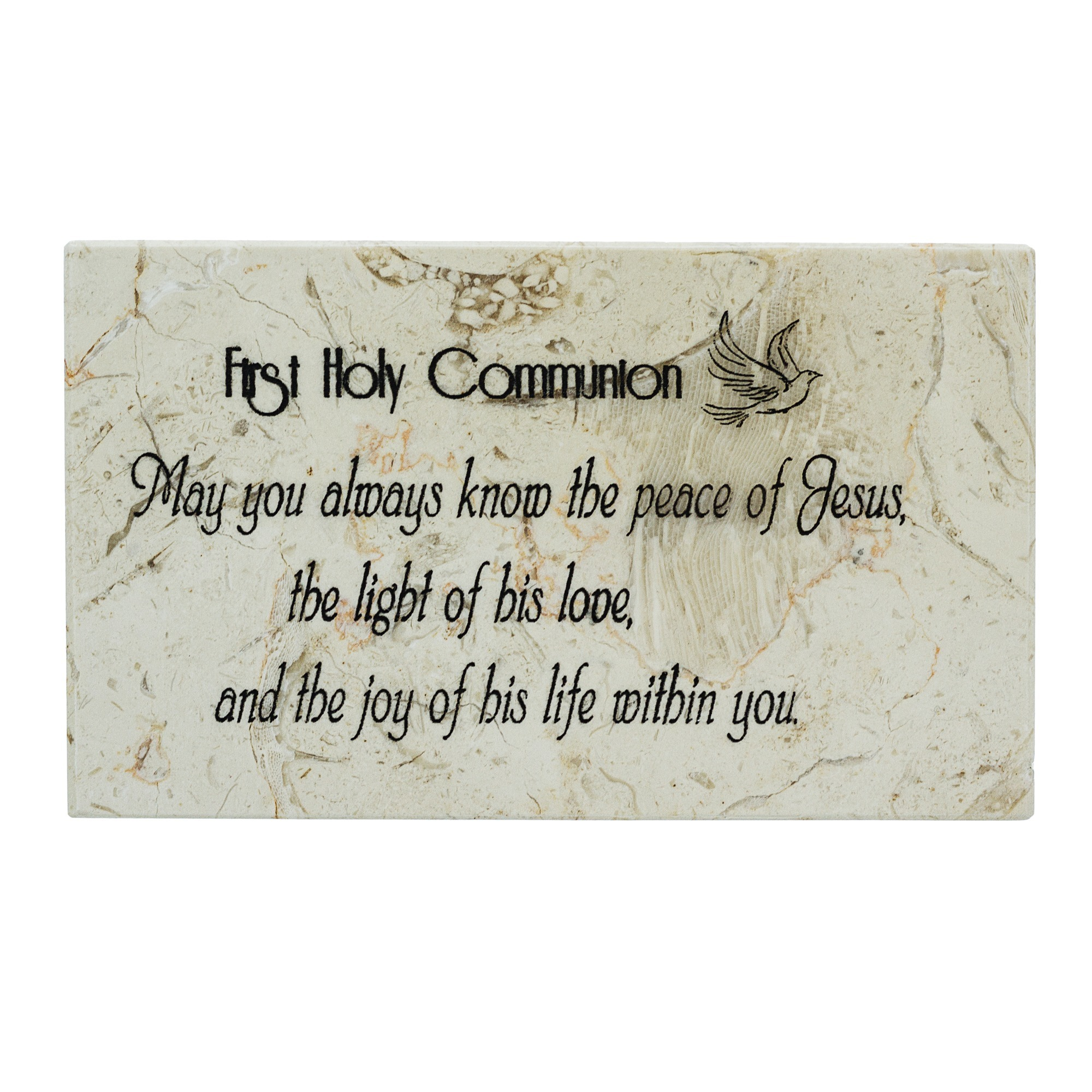 First Holy Communion Prayer Stone