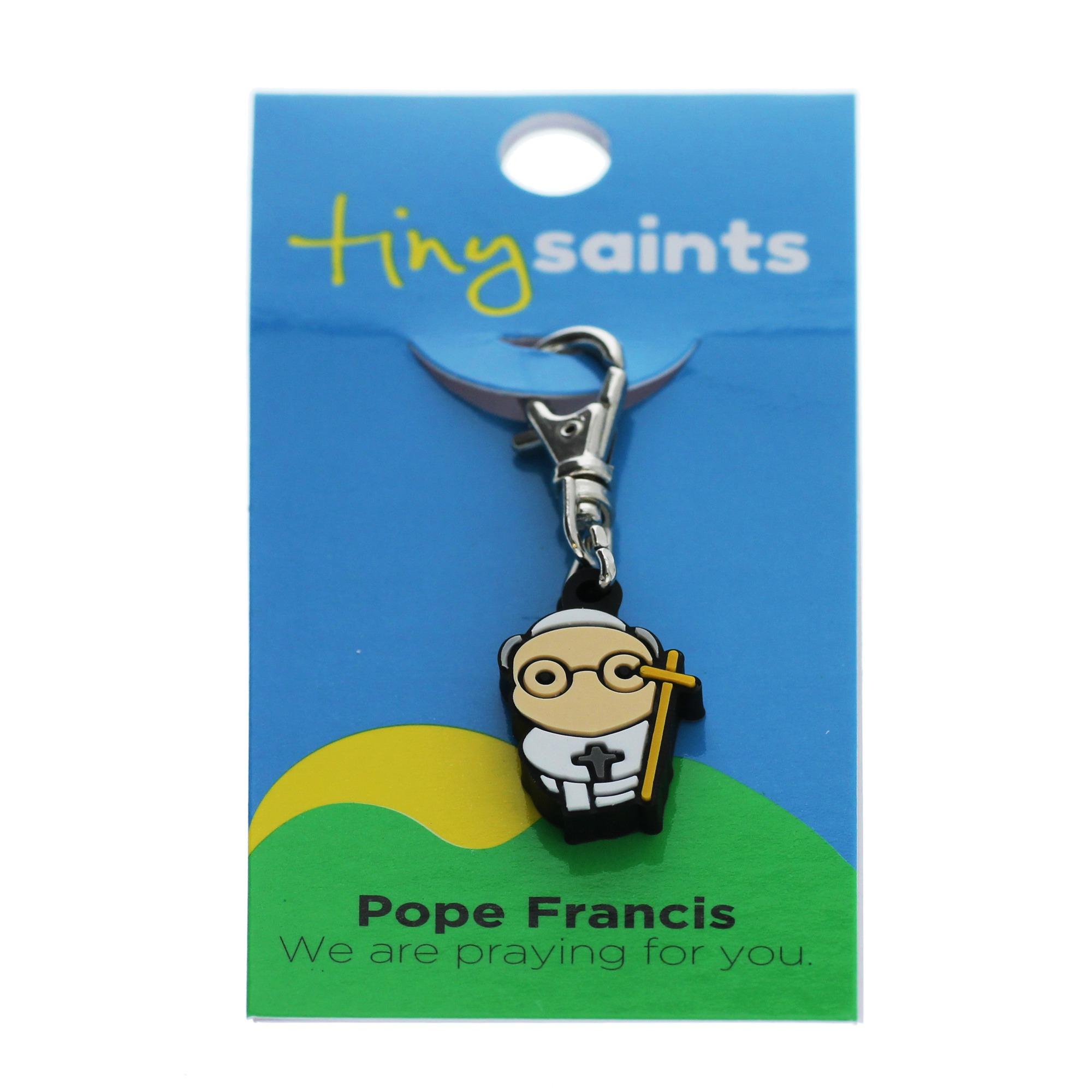 Pope Francis Tiny Saint Charm | The Catholic Company