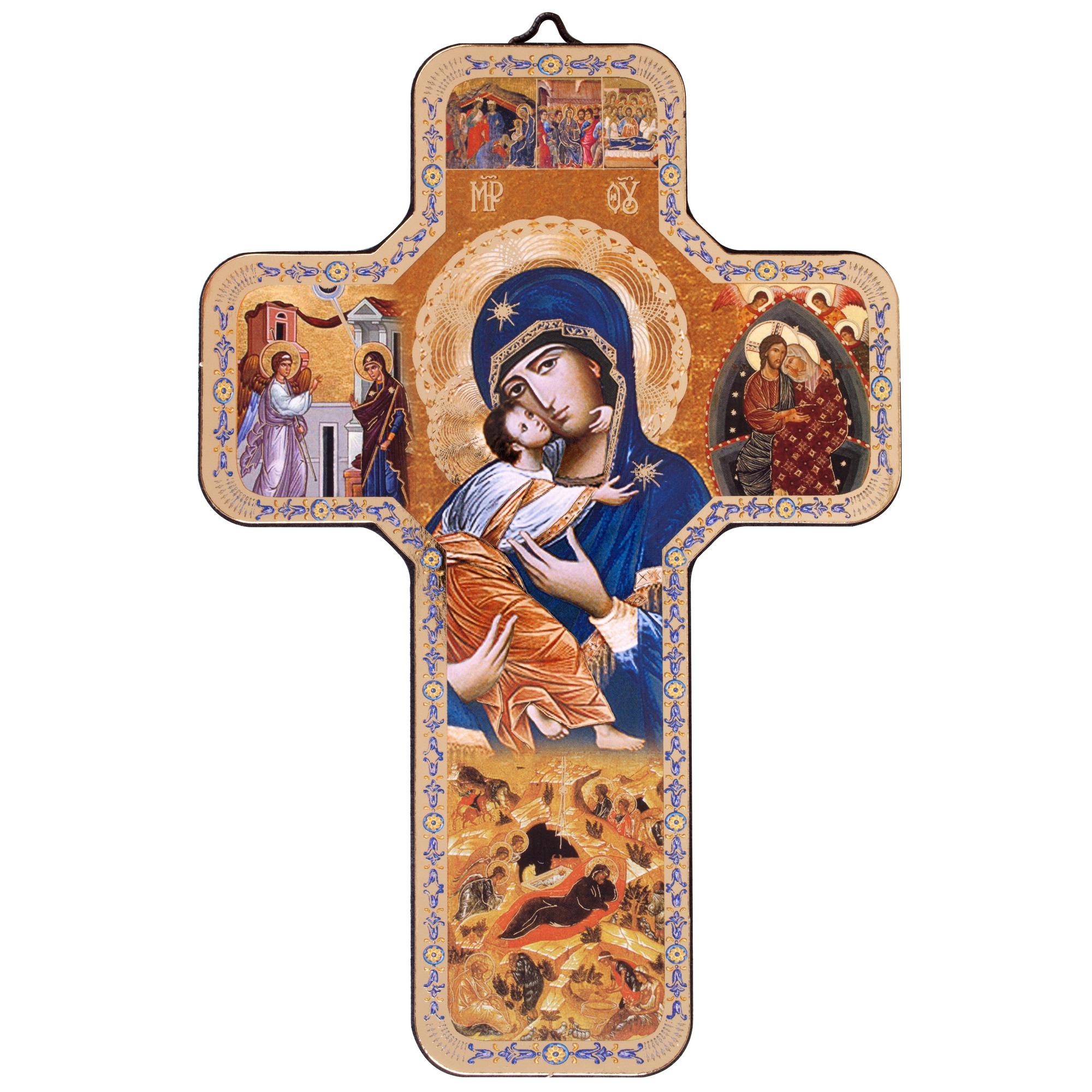 Madonna Of Tenderness Icon Cross The Catholic Company