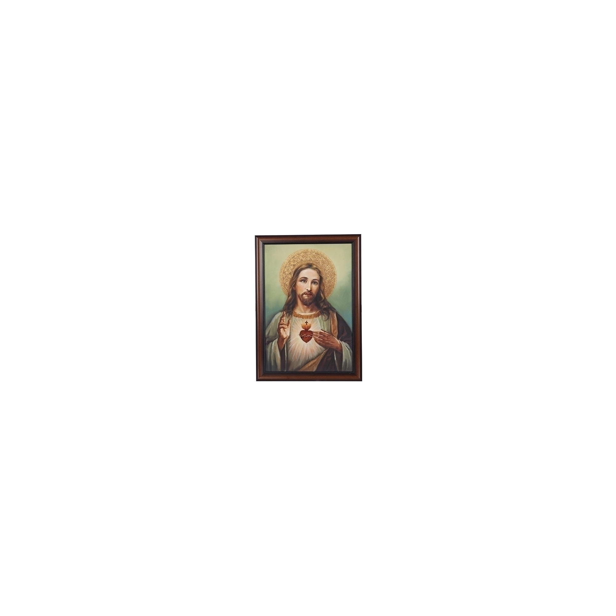 Sacred Heart of Jesus Framed Art- 27\