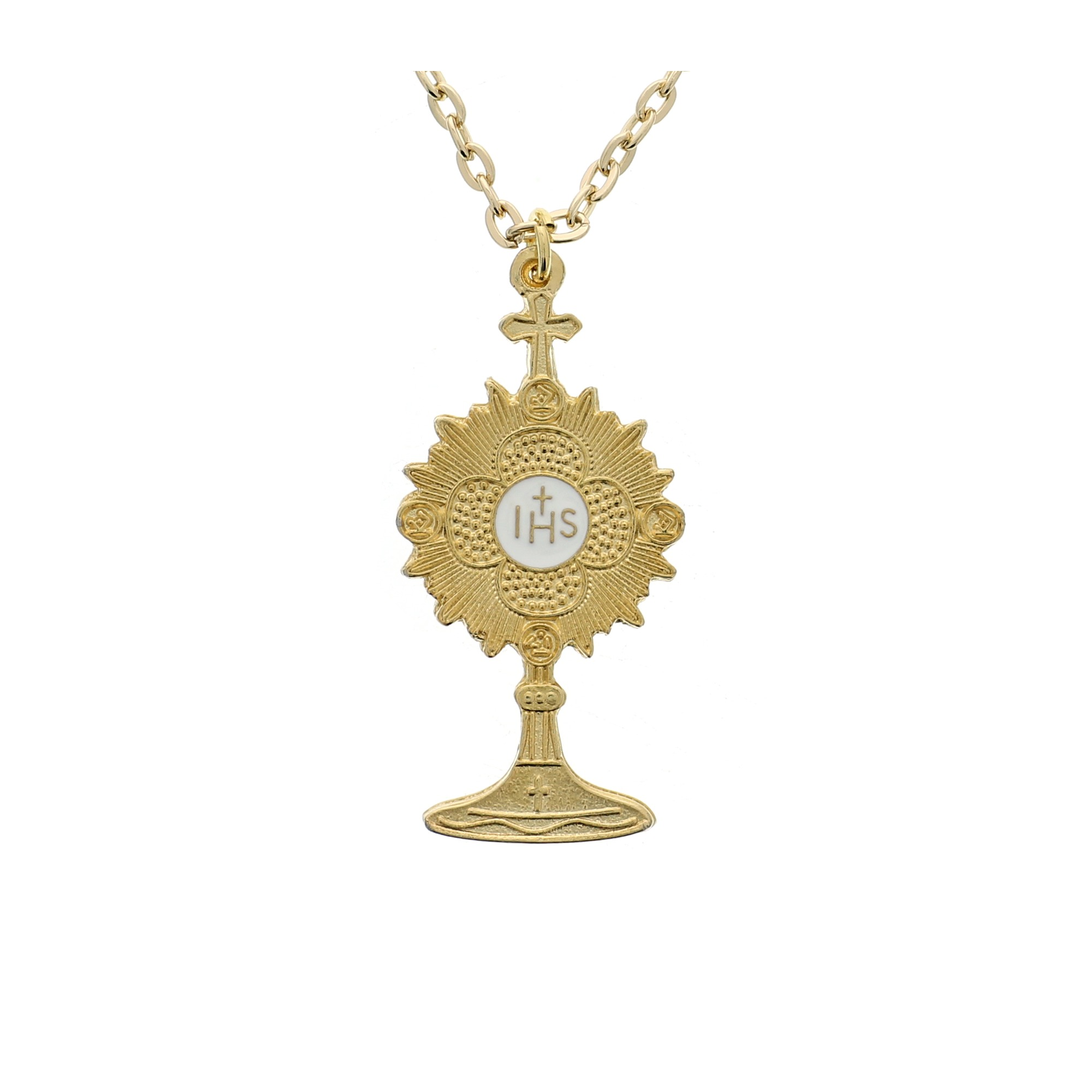 gold il fullxfull pendant p cross layering gift day silver christening plated rose every baptism