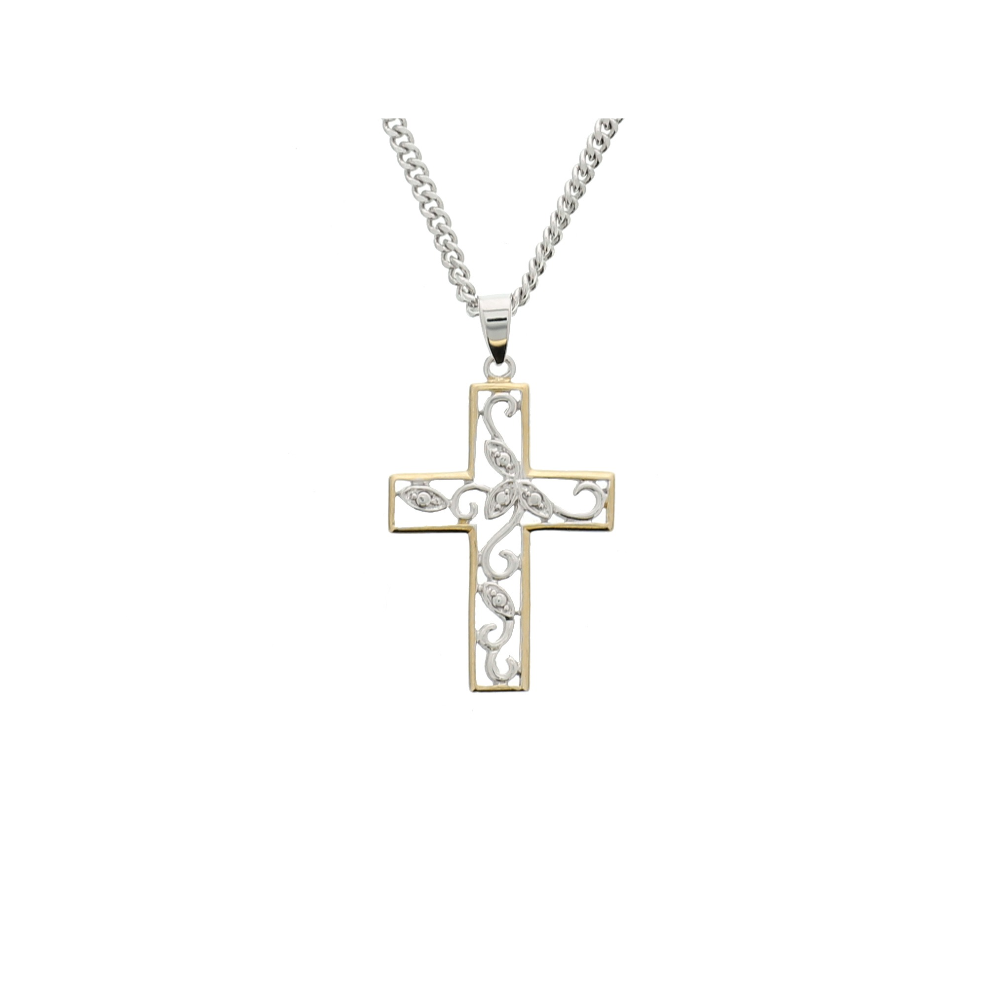 cross lockets silver heart sterling