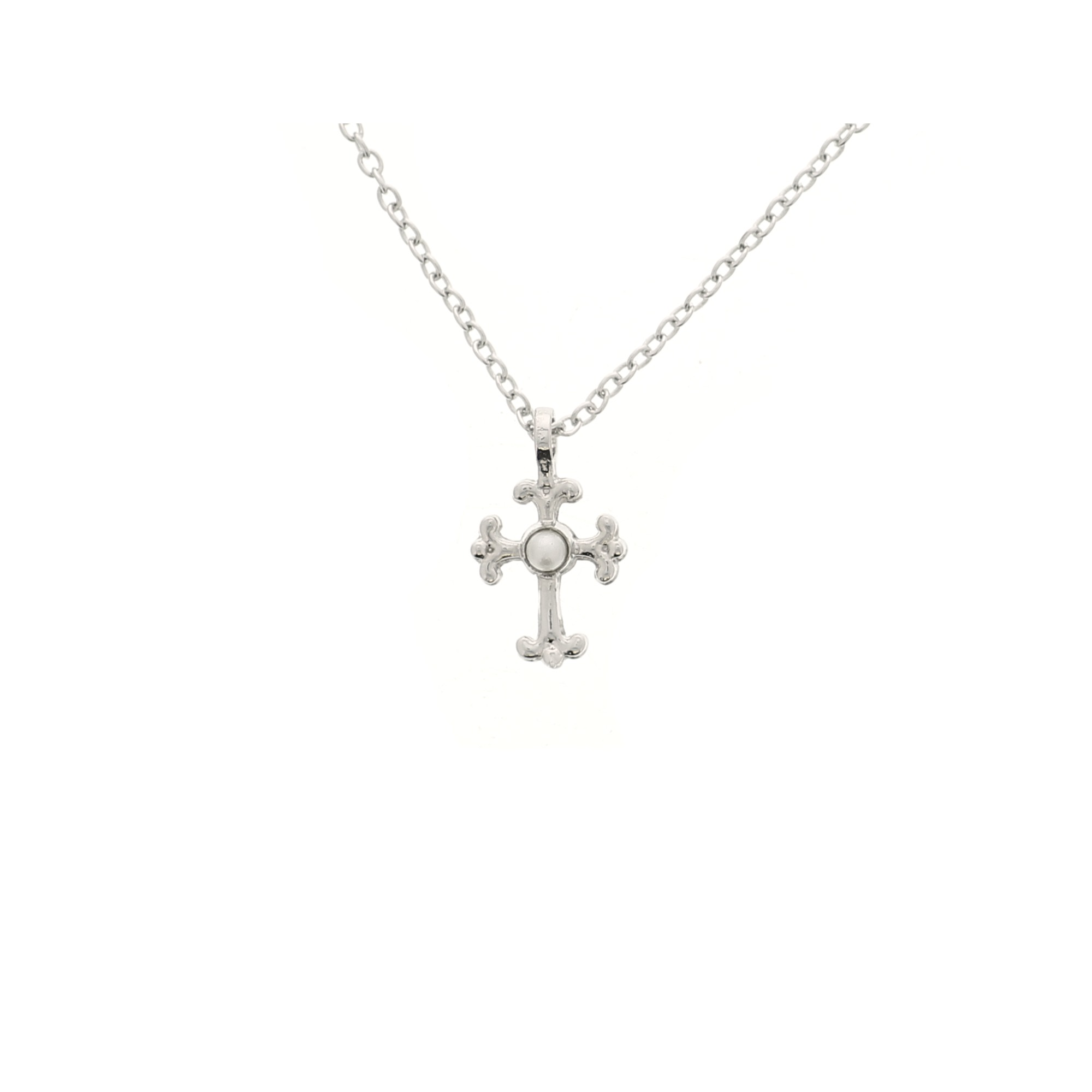 sterling cross jewel silver d for necklace watchshop childrens diamond jewellery com